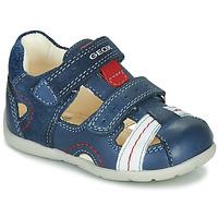 鞋子 男孩 凉鞋 Geox 健乐士 B KAYTAN 蓝色 / 白色 / 红色