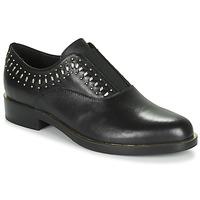 鞋子 女士 德比 Geox 健乐士 D BROGUE S 黑色 / 金色