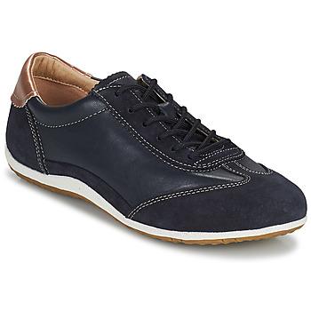 鞋子 女士 球鞋基本款 Geox 健乐士 D VEGA 海蓝色
