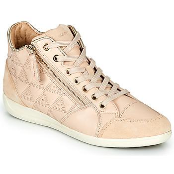 鞋子 女士 高帮鞋 Geox 健乐士 D MYRIA 米色