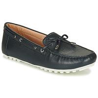 鞋子 女士 皮便鞋 Geox 健乐士 D LEELYAN 蓝色 / 海蓝色
