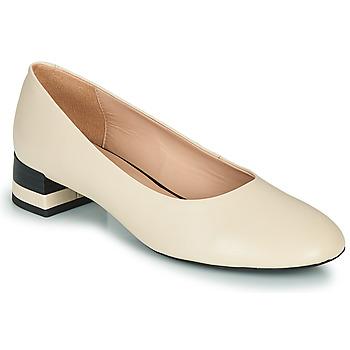 鞋子 女士 高跟鞋 Geox 健乐士 D CHLOO MID 米色