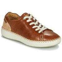 鞋子 女士 球鞋基本款 Pikolinos 派高雁 MESINA W6B 棕色 / 米色