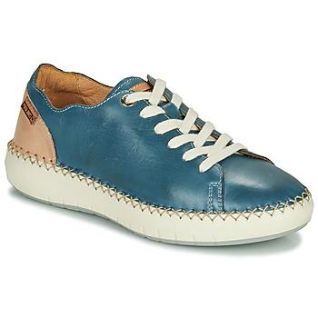 鞋子 女士 球鞋基本款 Pikolinos 派高雁 MESINA W6B 蓝色 / 玫瑰色