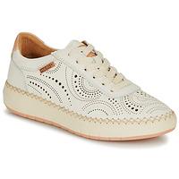 鞋子 女士 球鞋基本款 Pikolinos 派高雁 MESINA W6B 白色 / 玫瑰色