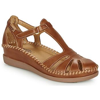 鞋子 女士 凉鞋 Pikolinos 派高雁 CADAQUES W8K 驼色