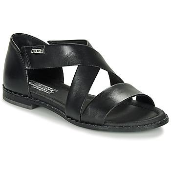 鞋子 女士 凉鞋 Pikolinos 派高雁 ALGAR W0X 黑色