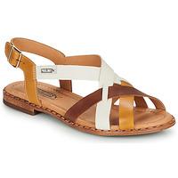 鞋子 女士 凉鞋 Pikolinos 派高雁 ALGAR W0X 棕色 / 白色 / 黄色