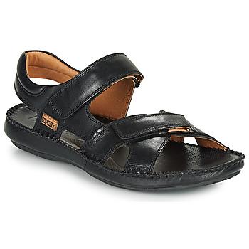 鞋子 男士 凉鞋 Pikolinos 派高雁 TARIFA 06J 黑色