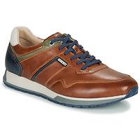 鞋子 男士 球鞋基本款 Pikolinos 派高雁 CAMBIL M5N 棕色 / 海蓝色
