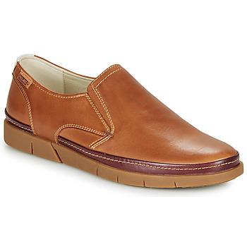 鞋子 男士 皮便鞋 Pikolinos 派高雁 PALAMOS M0R 驼色