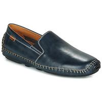 鞋子 男士 皮便鞋 Pikolinos 派高雁 JEREZ 09Z 海蓝色