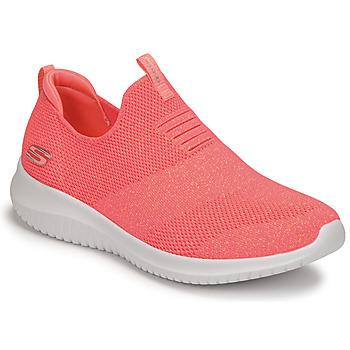 鞋子 女士 训练鞋 Skechers 斯凯奇 ULTRA FLEX 玫瑰色