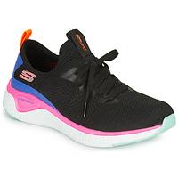 鞋子 女士 训练鞋 Skechers 斯凯奇 SOLAR FUSE 黑色 / 玫瑰色 / 蓝色