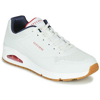 鞋子 男士 球鞋基本款 Skechers 斯凯奇 UNO STAND ON AIR 白色