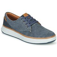 鞋子 男士 球鞋基本款 Skechers 斯凯奇 MORENO EDERSON 蓝色 / 棕色