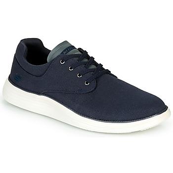 鞋子 男士 球鞋基本款 Skechers 斯凯奇 STATUS 2.0 BURBANK 海蓝色