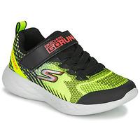 鞋子 男孩 球鞋基本款 Skechers 斯凯奇 GO RUN 600 BAXTUX 黑色 / 黄色