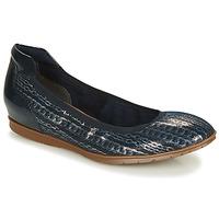 鞋子 女士 平底鞋 Tamaris JOYA 海蓝色 / 银灰色