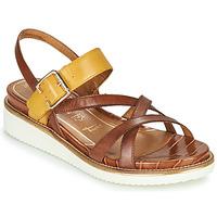 鞋子 女士 凉鞋 Tamaris EDA 棕色 / 黄色