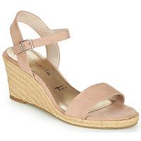 鞋子 女士 凉鞋 Tamaris LIVIAN 玫瑰色
