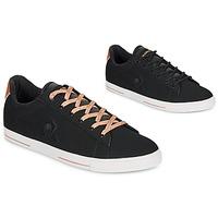 鞋子 女士 球鞋基本款 Le Coq Sportif 乐卡克 AGATE METALLIC 黑色 / 金色