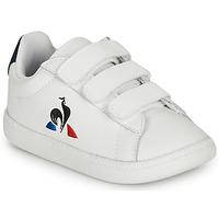 鞋子 儿童 球鞋基本款 Le Coq Sportif 乐卡克 COURTSET INF 白色