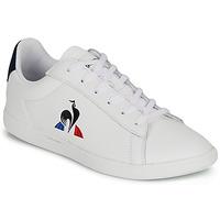 鞋子 儿童 球鞋基本款 Le Coq Sportif 乐卡克 COURTSET GS 白色