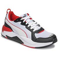 鞋子 男士 球鞋基本款 Puma 彪马 X-RAY 白色 / 黑色 / 红色