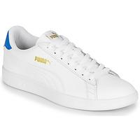 鞋子 男士 球鞋基本款 Puma 彪马 PUMA SMASH V2 L 白色