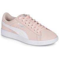 鞋子 女士 球鞋基本款 Puma 彪马 VIKKY V2 ROSE 玫瑰色