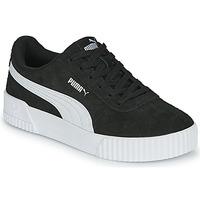 鞋子 女士 球鞋基本款 Puma 彪马 CARINA 黑色