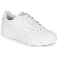 鞋子 女士 球鞋基本款 Puma 彪马 Carina L 白色