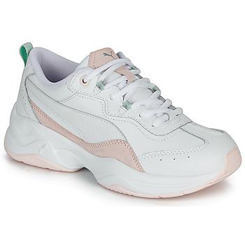 鞋子 女士 球鞋基本款 Puma 彪马 CILIA LUX 白色