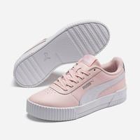 鞋子 儿童 球鞋基本款 Puma 彪马 Carina L Jr 玫瑰色