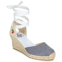 鞋子 女士 凉鞋 Le Temps des Cerises POLY 蓝色 / 白色
