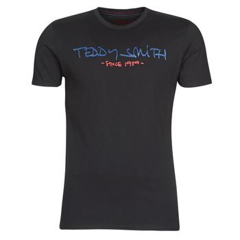 衣服 男士 短袖体恤 Teddy Smith 泰迪 史密斯 TICLASS 黑色