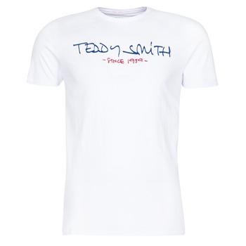 衣服 男士 短袖体恤 Teddy Smith 泰迪 史密斯 TICLASS 白色