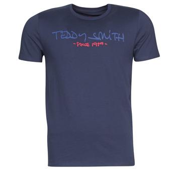 衣服 男士 短袖体恤 Teddy Smith 泰迪 史密斯 TICLASS 海蓝色