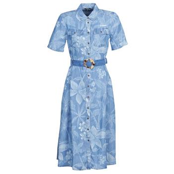 衣服 女士 长裙 Desigual KATE 蓝色