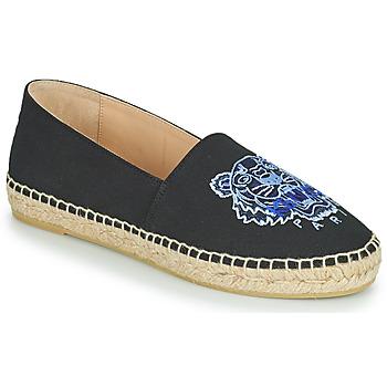 鞋子 女士 帆布便鞋 Kenzo ESPADRILLE CLASSIC TIGER 黑色