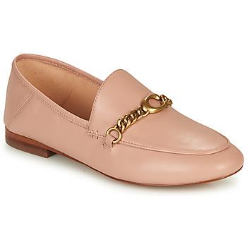 鞋子 女士 皮便鞋 Coach HELENA LOAFER 玫瑰色 / 裸色