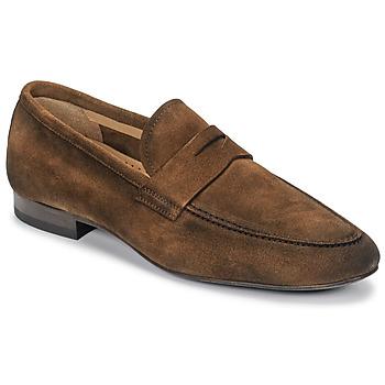 鞋子 男士 皮便鞋 Brett & Sons FIRICE 棕色