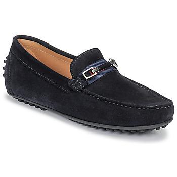 鞋子 男士 皮便鞋 Brett & Sons FARICE 海蓝色