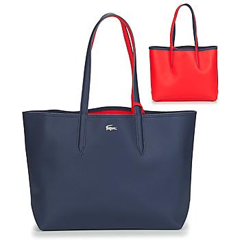 包 女士 购物袋 Lacoste ANNA 海蓝色 / 红色