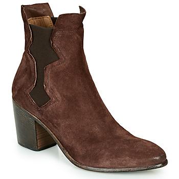 鞋子 女士 短靴 Moma NIAGARA - OLIVER 棕色