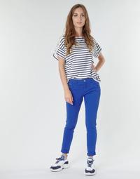 衣服 女士 多口袋褲子 One Step LE JUDY 藍色