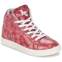 鞋子 女孩 高帮鞋 American College RED 红色