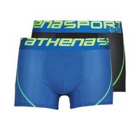 内衣  男士 拳击 Athena AIR PERFORMANCE 黑色 / 蓝色