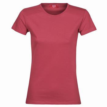 衣服 女士 短袖体恤 B.O.T.D MATILDA 波尔多红
